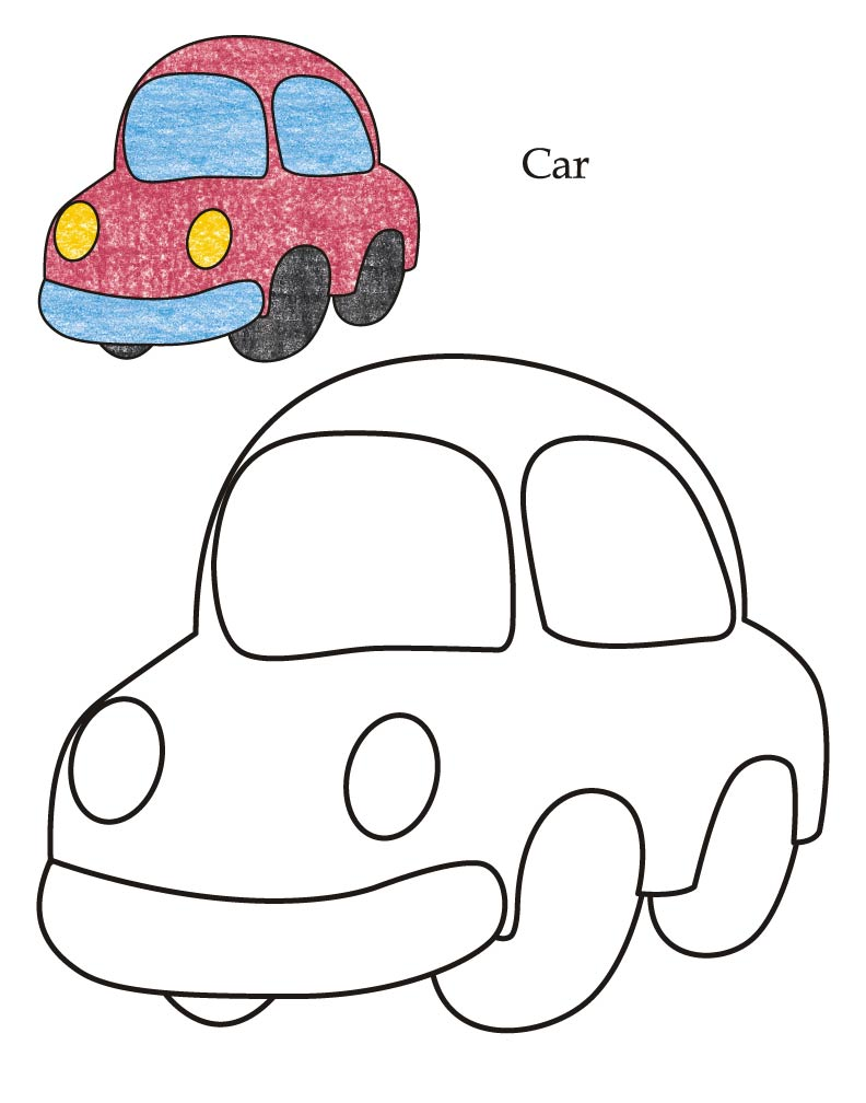 toy cars coloring pages - photo#15