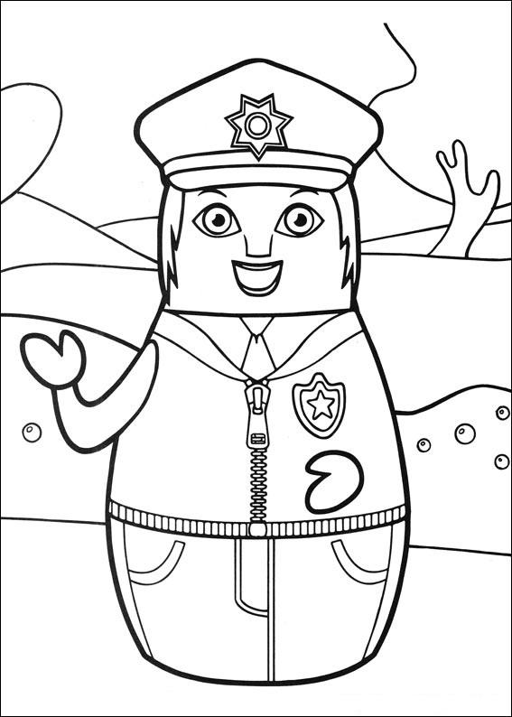 Higglytown Heroes Coloring Page Coloring Home