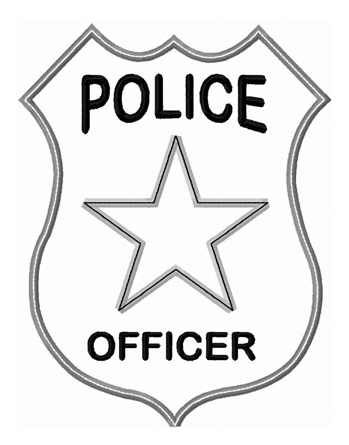 This is an image of Agile Printable Police Badges
