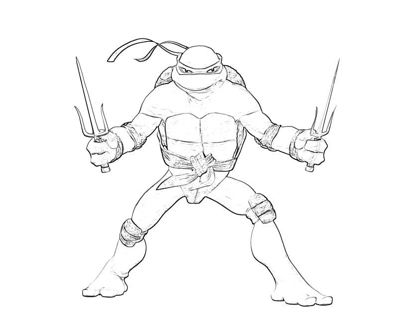 10 pics of tmnt raphael coloring pages raphael ninja turtle - Tmnt Coloring Pages