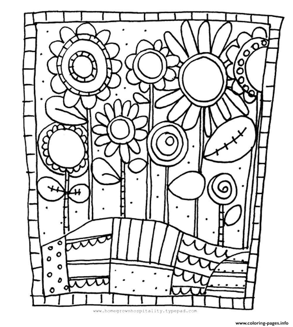 Coloring Pages: Coloring Colouring On Flower Coloring Pages ...