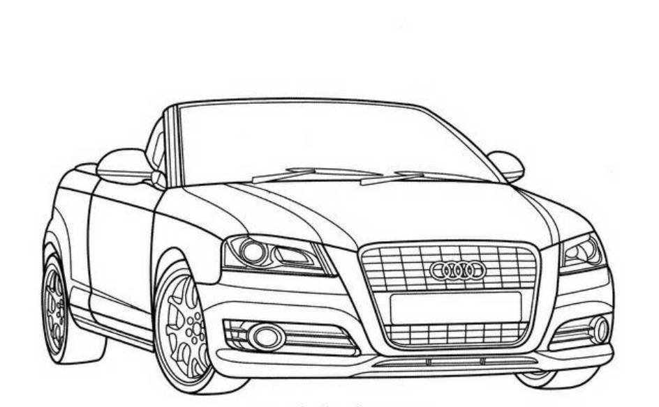 Muscle Cars To Color Printable  Coloring Home