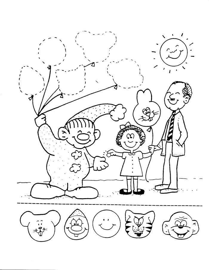 circus tent coloring pages preschool - photo#32