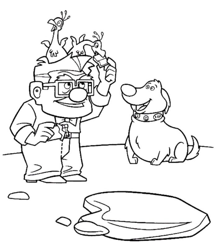 up coloring book pages - photo#43