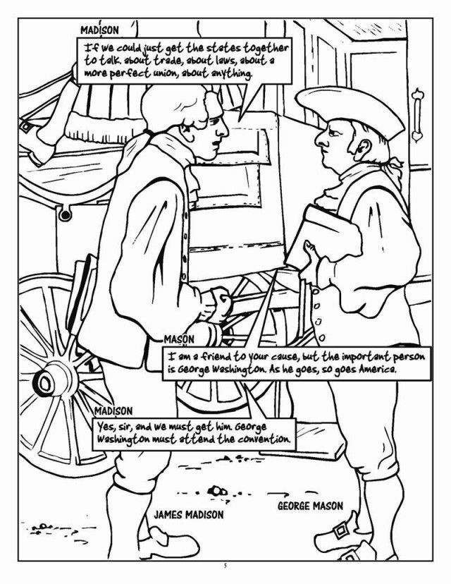 Constitution Day Coloring Pages (Free Printables) | Constitution ... | 828x640