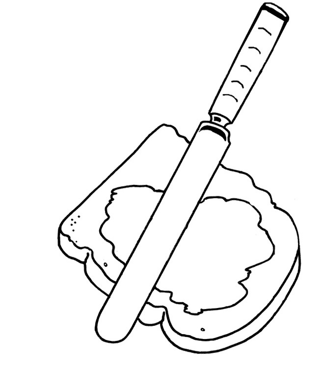 coloring pages images sandwiches - photo#24