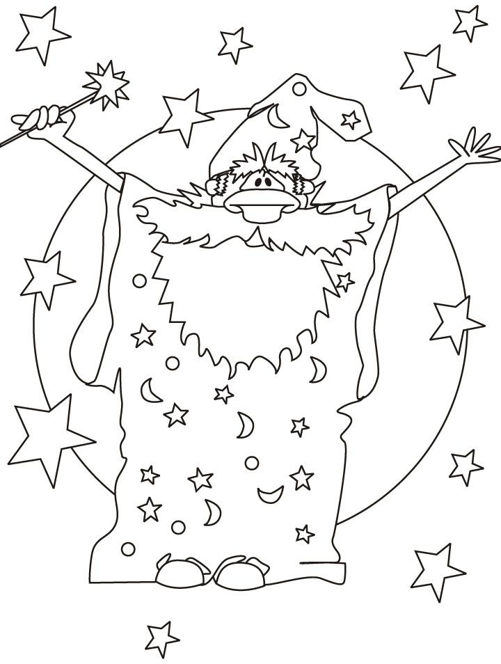 Wizard coloring page coloring home for Wizard coloring pages