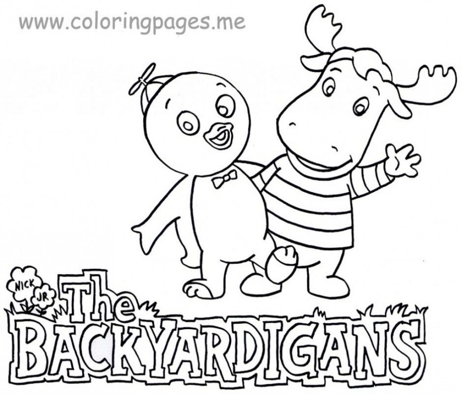 Backyardigans Coloring Pages - GetColoringPages.com | 804x940