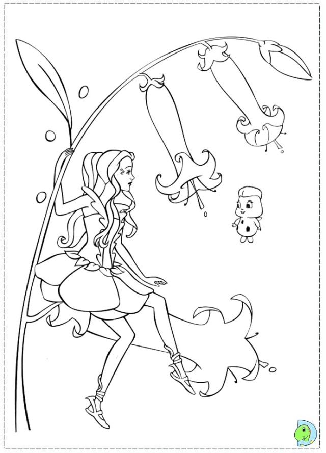 fairytopia coloring pages - photo#11