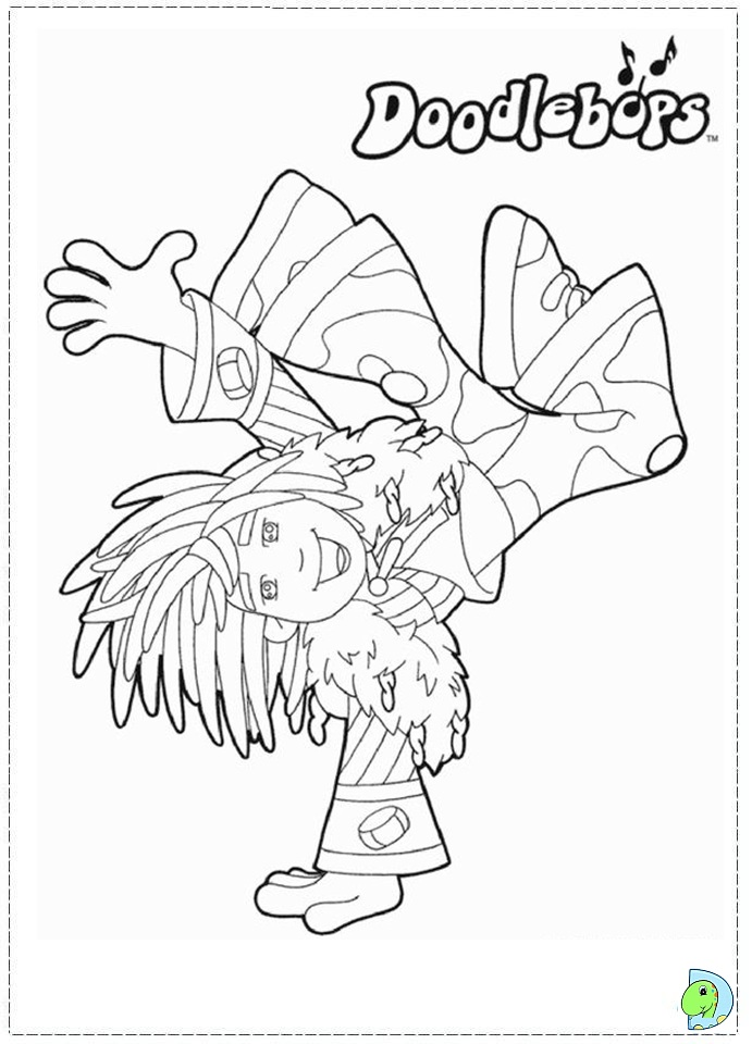 doodlebops printable coloring pages - photo#6