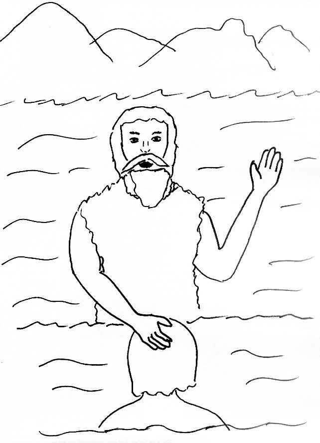 Crossing The Jordan River Coloring Pages Coloring Home