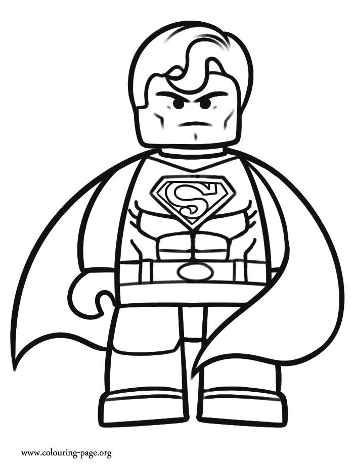 Superhero-coloring-pages-for-kids-530 Free Coloring Pages For Kids -  Coloring Home