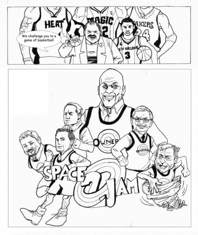 Michael Jordan Coloring Pages Free Coloring Pages Free Printable ...