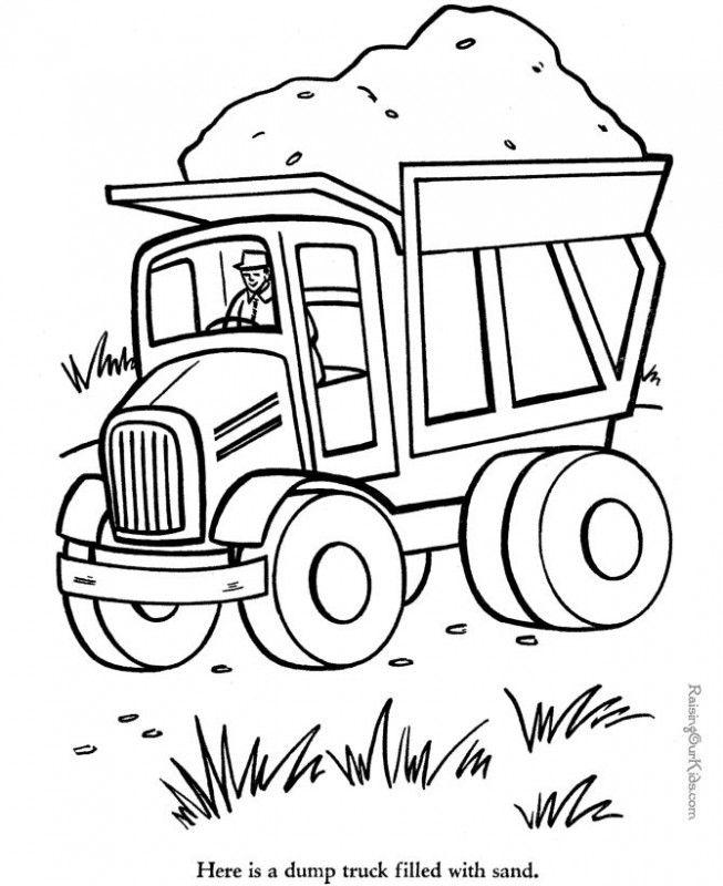 - Semi Trucks For Kids - Coloring Home