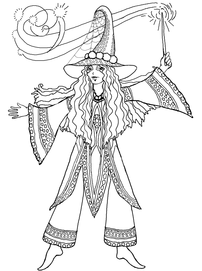 fairy and dragon coloring pages - photo#25