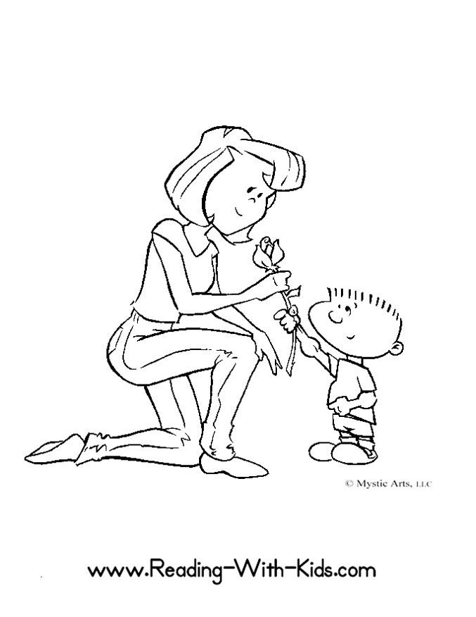 Thank You Coloring Pages For Kids
