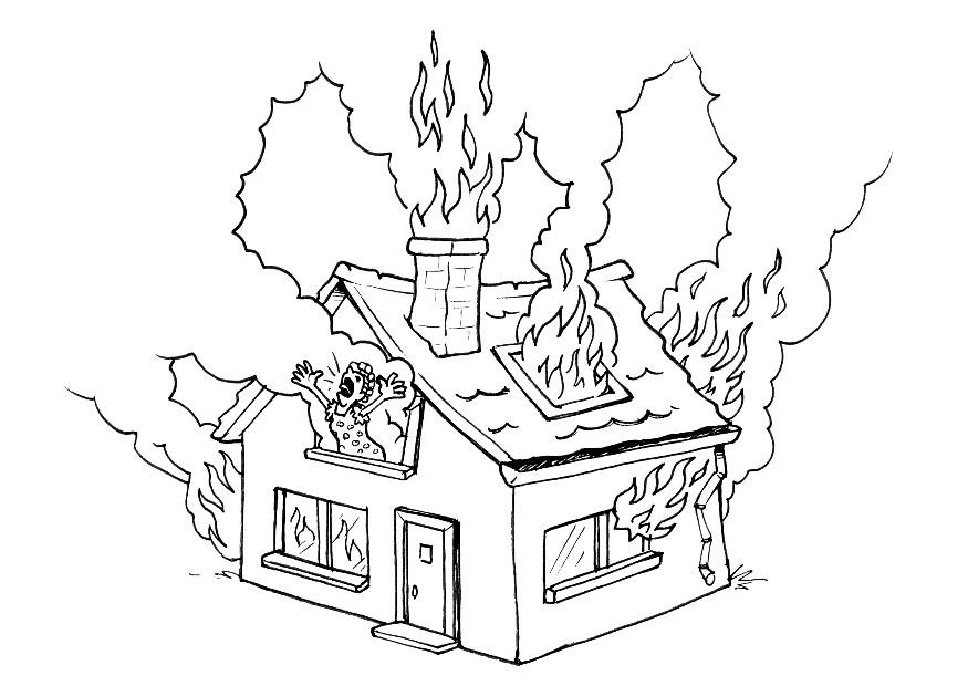 Fire coloring 2 free coloring page site coloring home for Free coloring page site