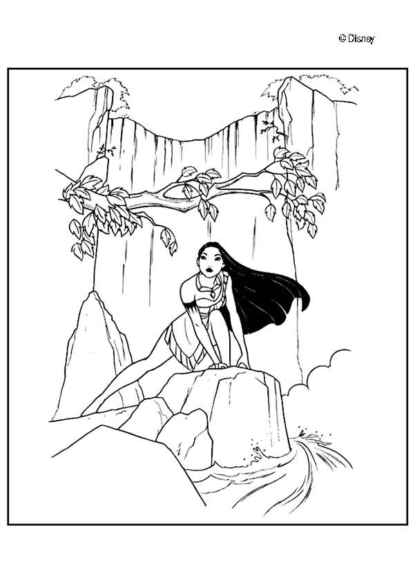 real pocahontas coloring pages - photo#10