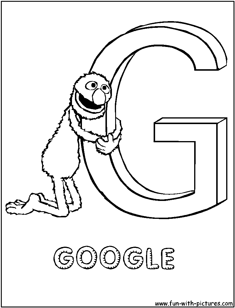 Google Coloring Pages For Kids - Coloring Home