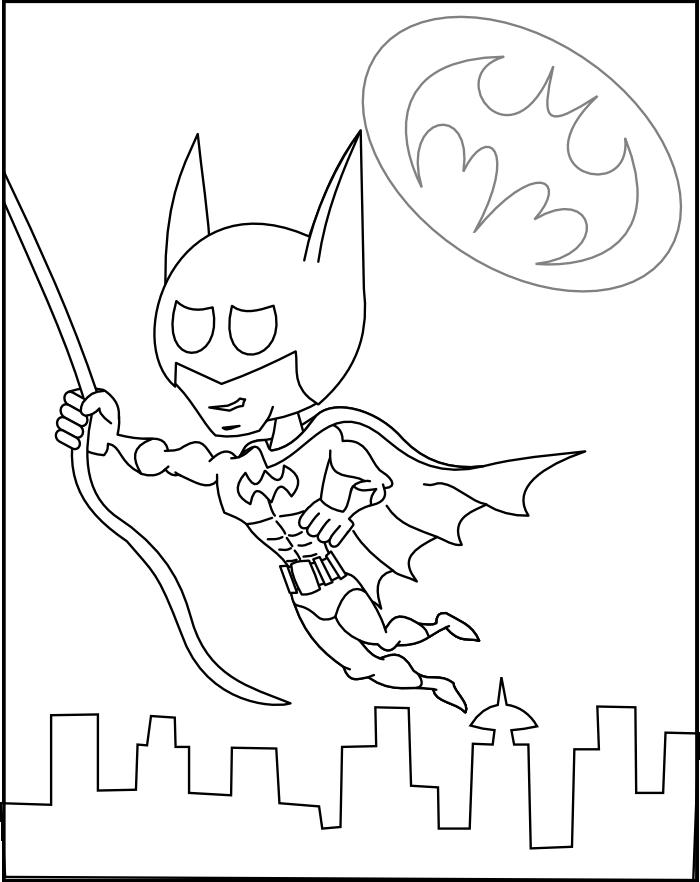 Batman Pictures To Colour - Coloring Home