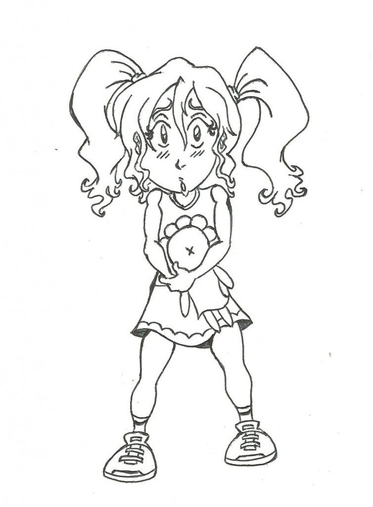 Groovy girl coloring pages coloring home for Groovy coloring pages