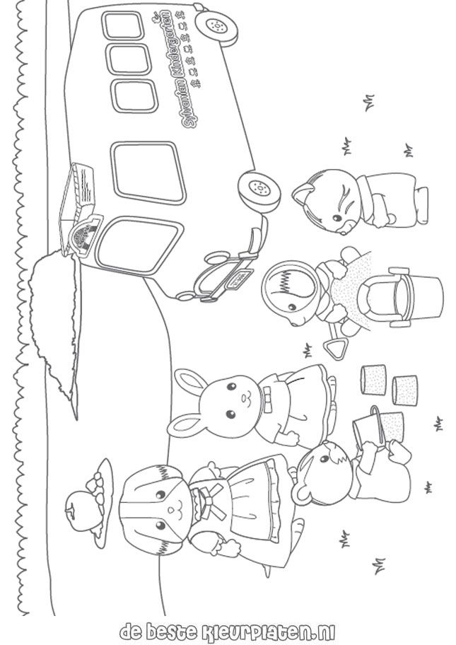 calico critters coloring pages printable - photo#16