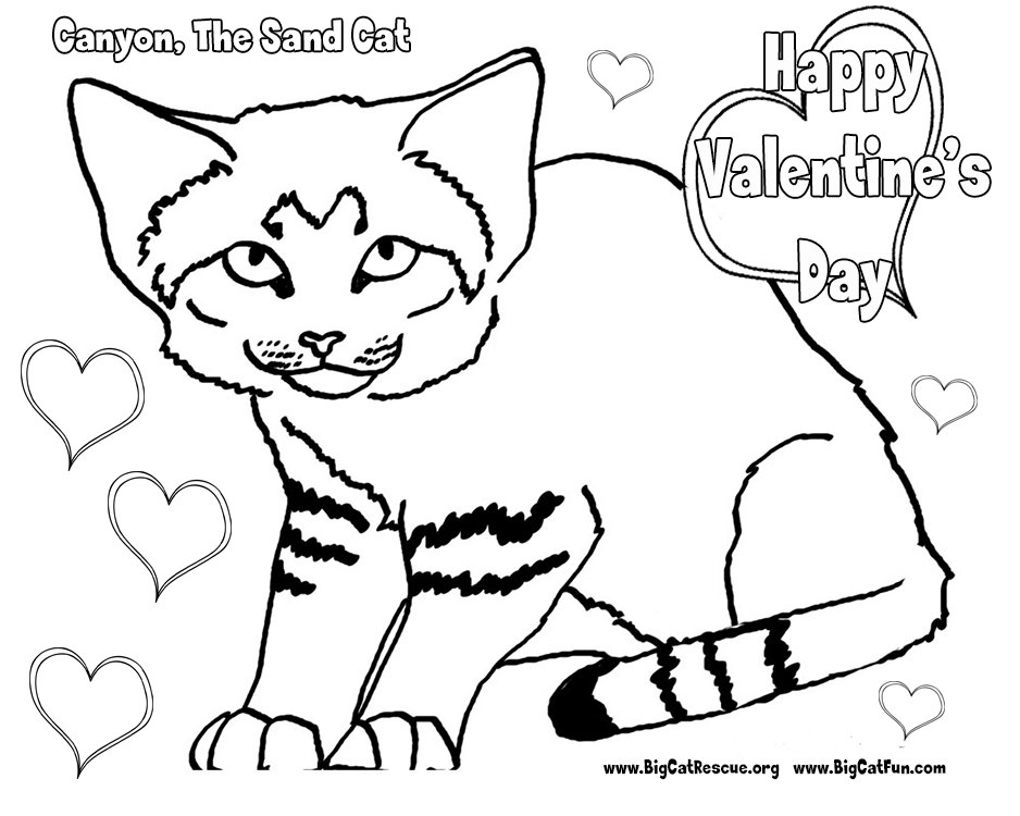 free coloring pages cat valentine - photo#12