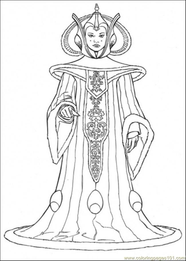 star wars character coloring pages - photo#3