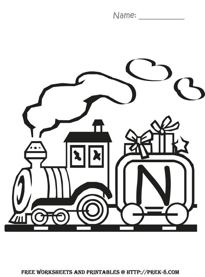 Train Images For Kids - Coloring Home