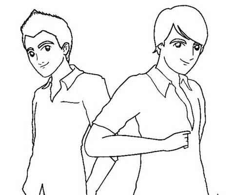 big time rush coloring pages - photo#4