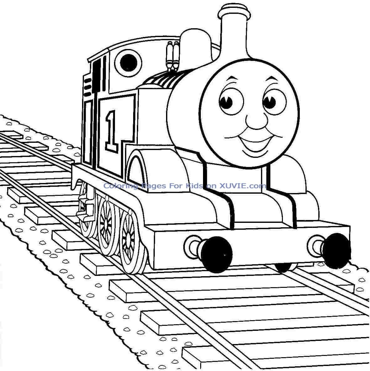 Printable thomas the train coloring pages coloring home for Thomas printable coloring pages