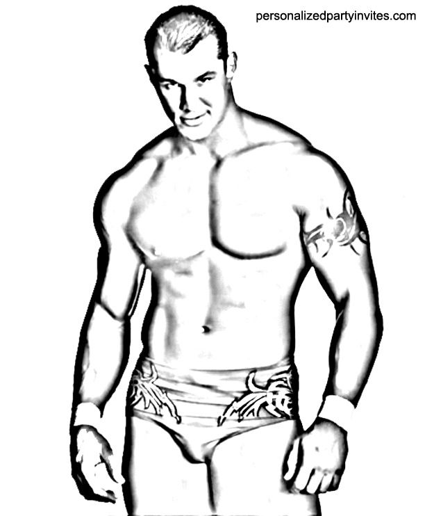 Coloring Wwe John Cena Coloring Pages Online Wwe Coloring