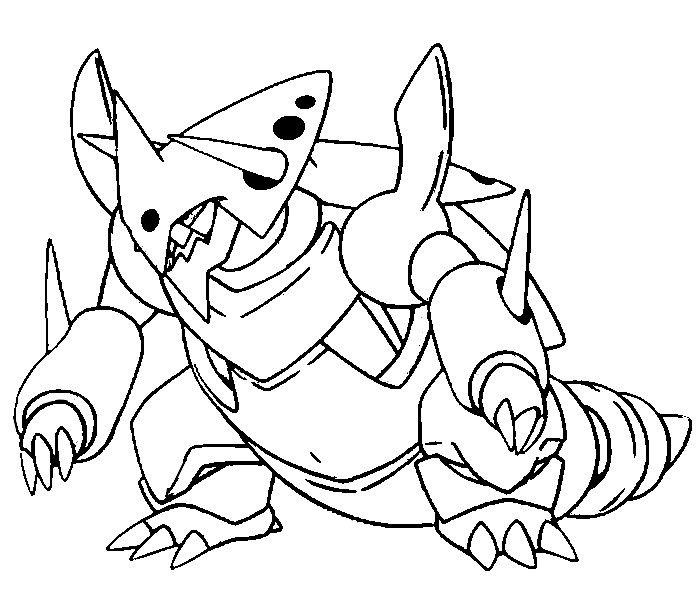 Mega Blastoise Ex Coloring Page Coloring Home