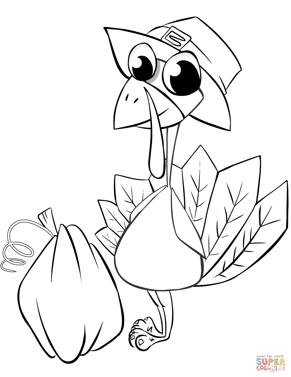 Thanksgiving Turkeys Coloring Pages Coloring Home