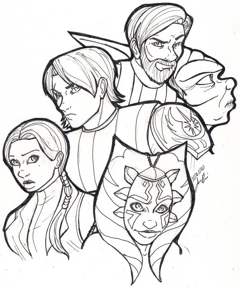 Coloring Pages Clone Wars Coloring Page star wars captain rex coloring pages az free for kids