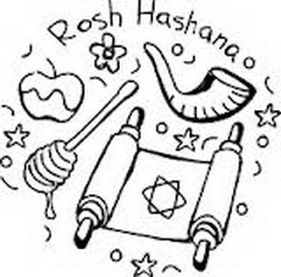 Jewish New Year Coloring Pages - inc-inc.net