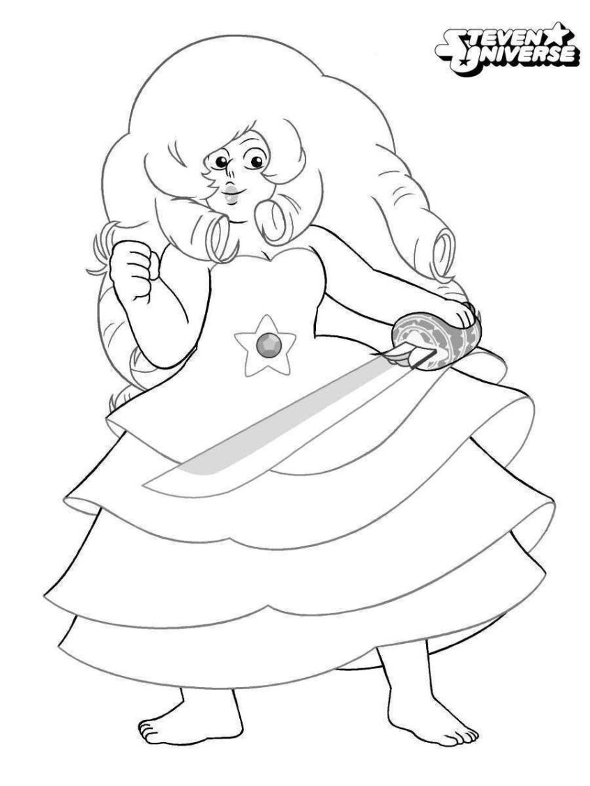 Coloring Pages: Steven Universe Coloring Page Involved ...
