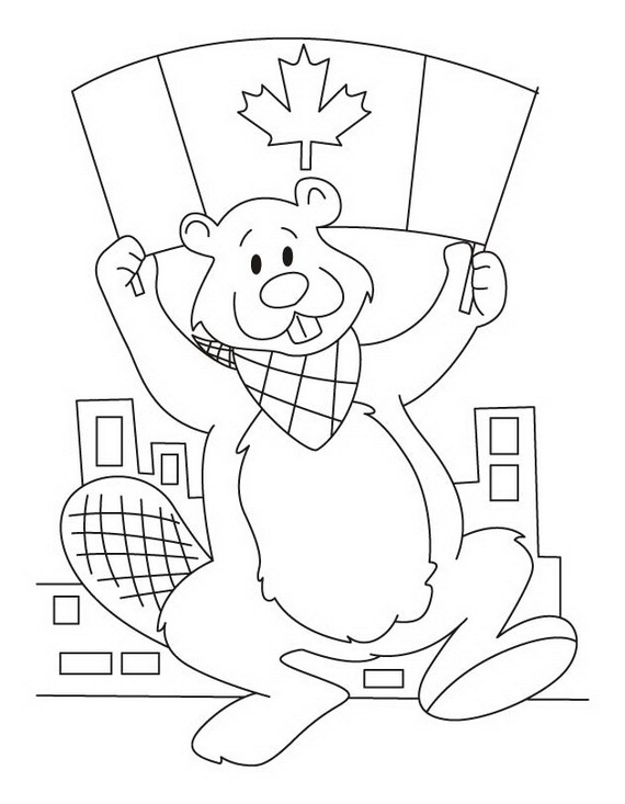 Canada Day Coloring Pages | family holiday.net/guide to family ...