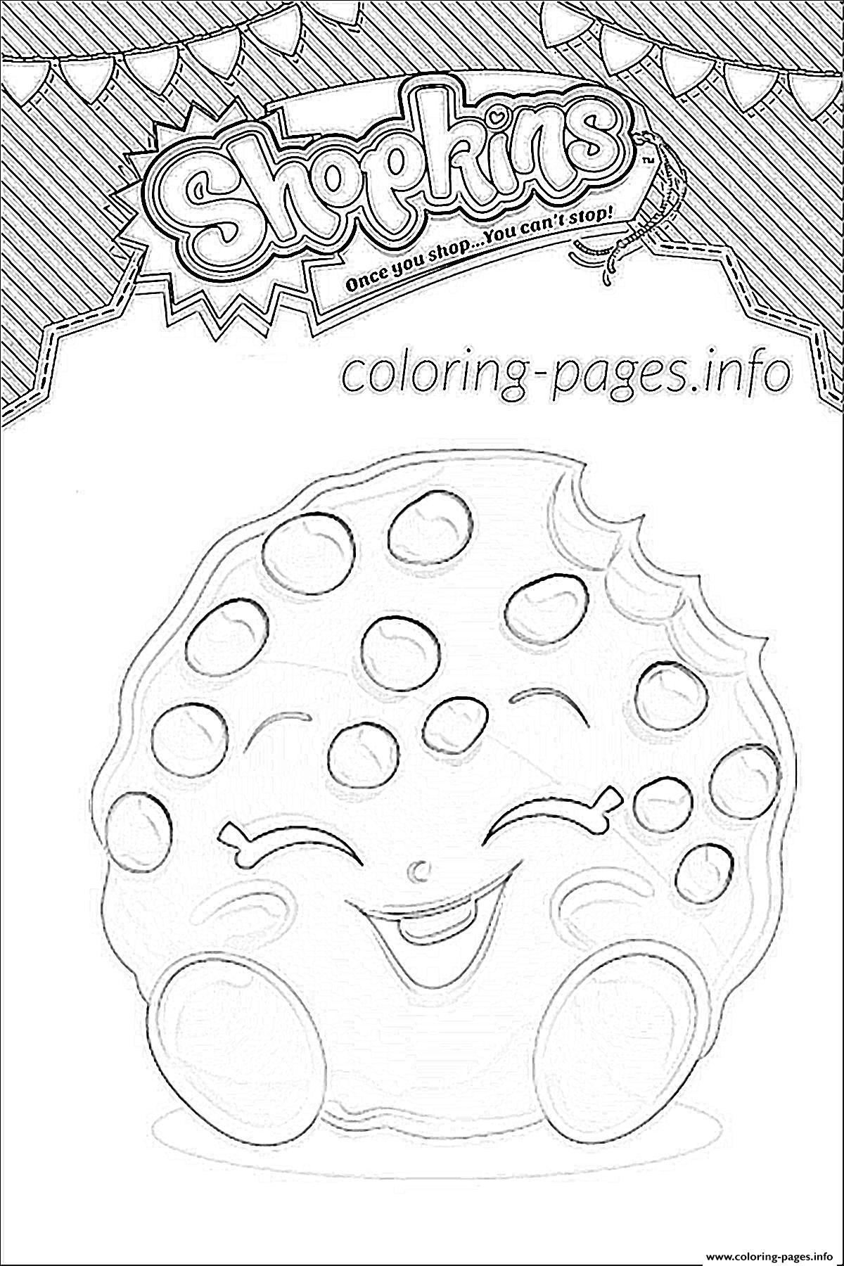 Shopkins Coloring Pages AZ Coloring