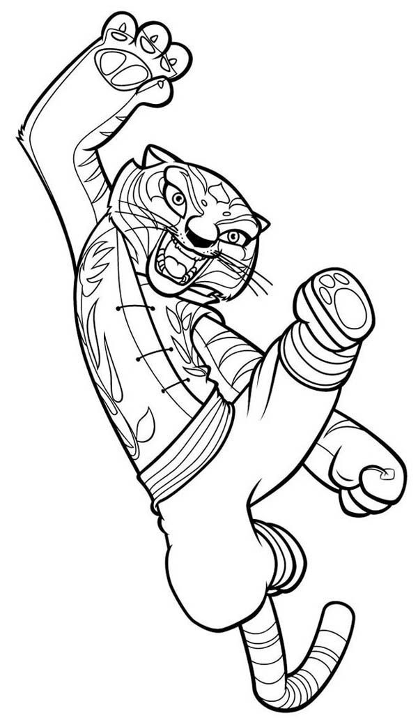 kung fu panda 2 coloring pages  coloring home