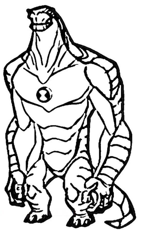 ultimate heatblast coloring pages - photo#14