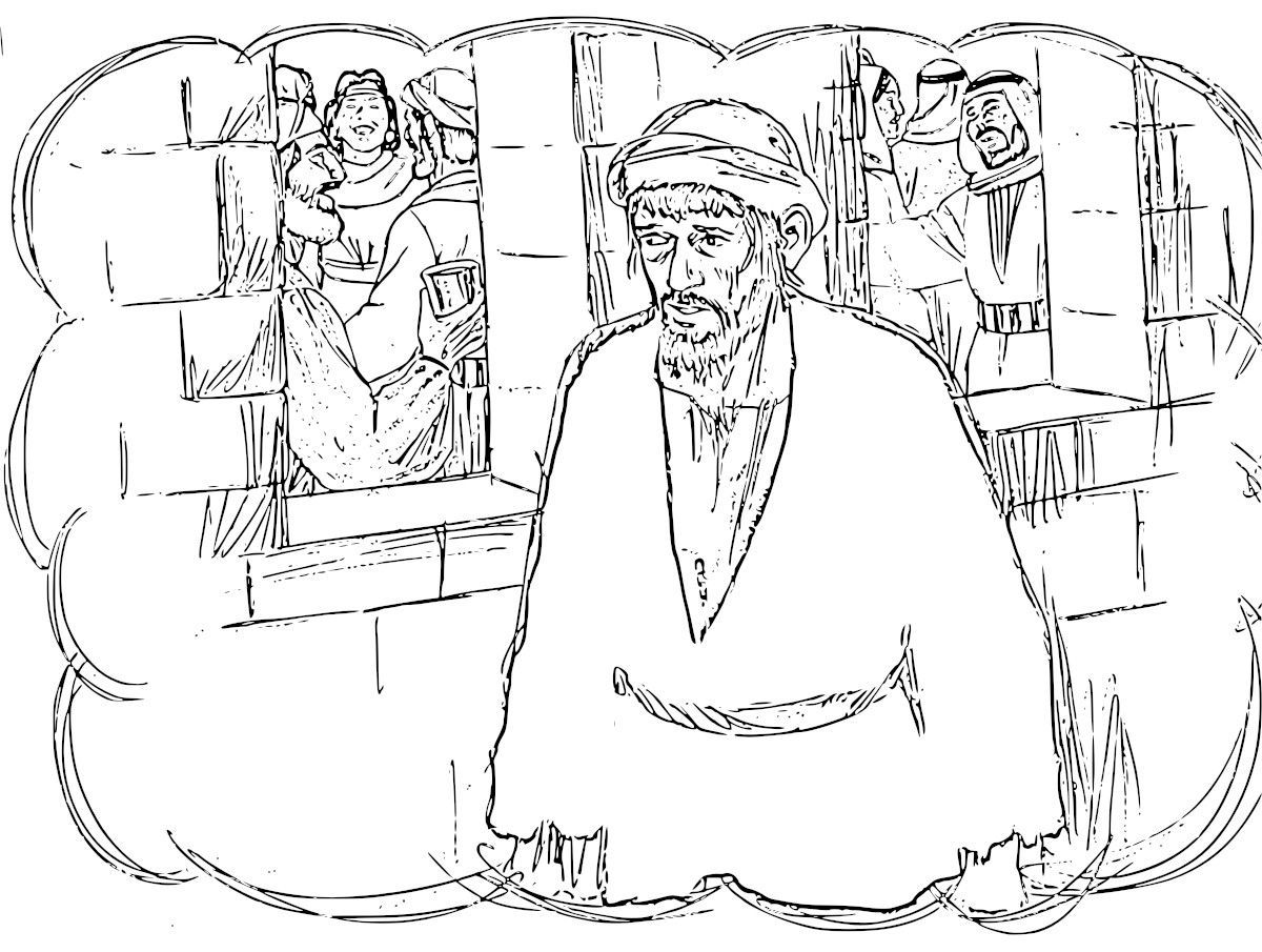 prodigal son coloring pages - photo#26