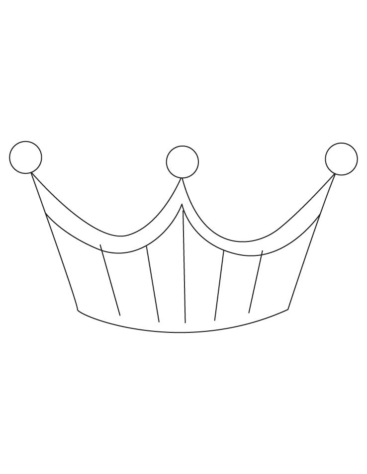Crown Princes Coloring Page Coloring Home