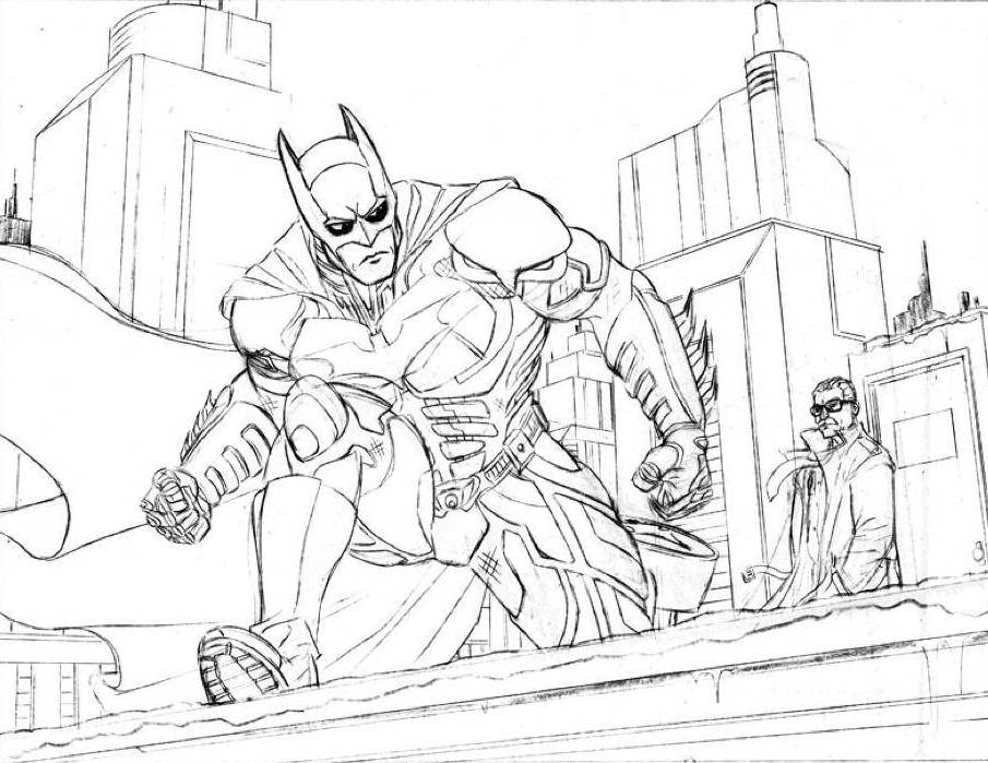 batman coloring pages dark knight - photo#20