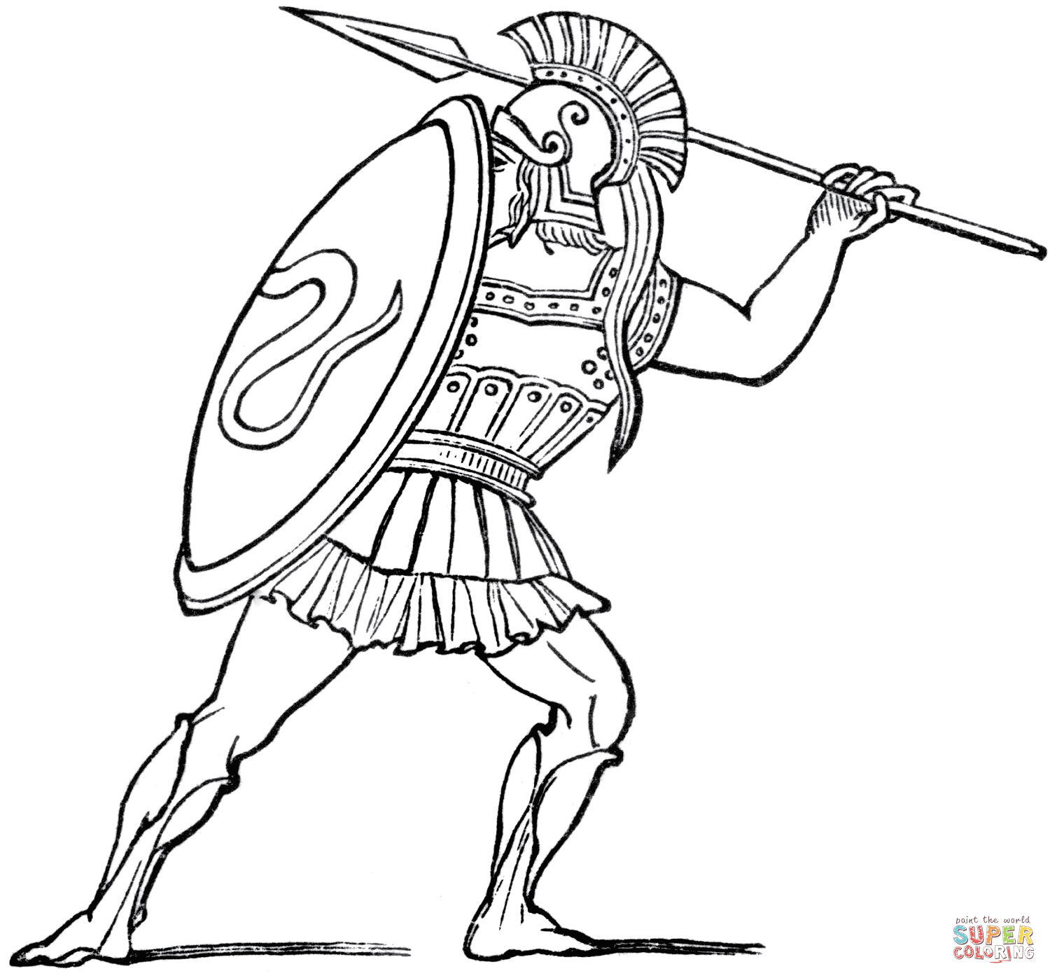 Coloring Pages Roman Soldier Coloring Page ancient roman war coloring pages az spartan warrior page free printable pages