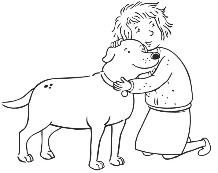 martha speaks coloring pages - photo#2