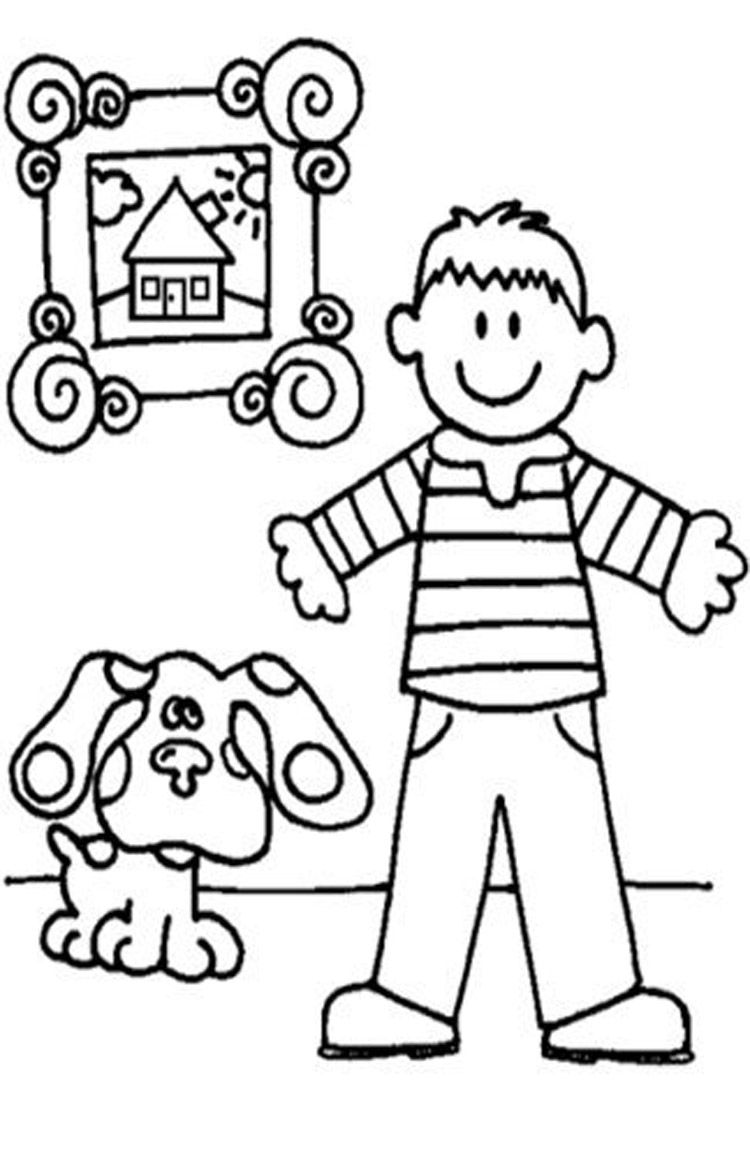 Clue Coloring Page - Coloring Home