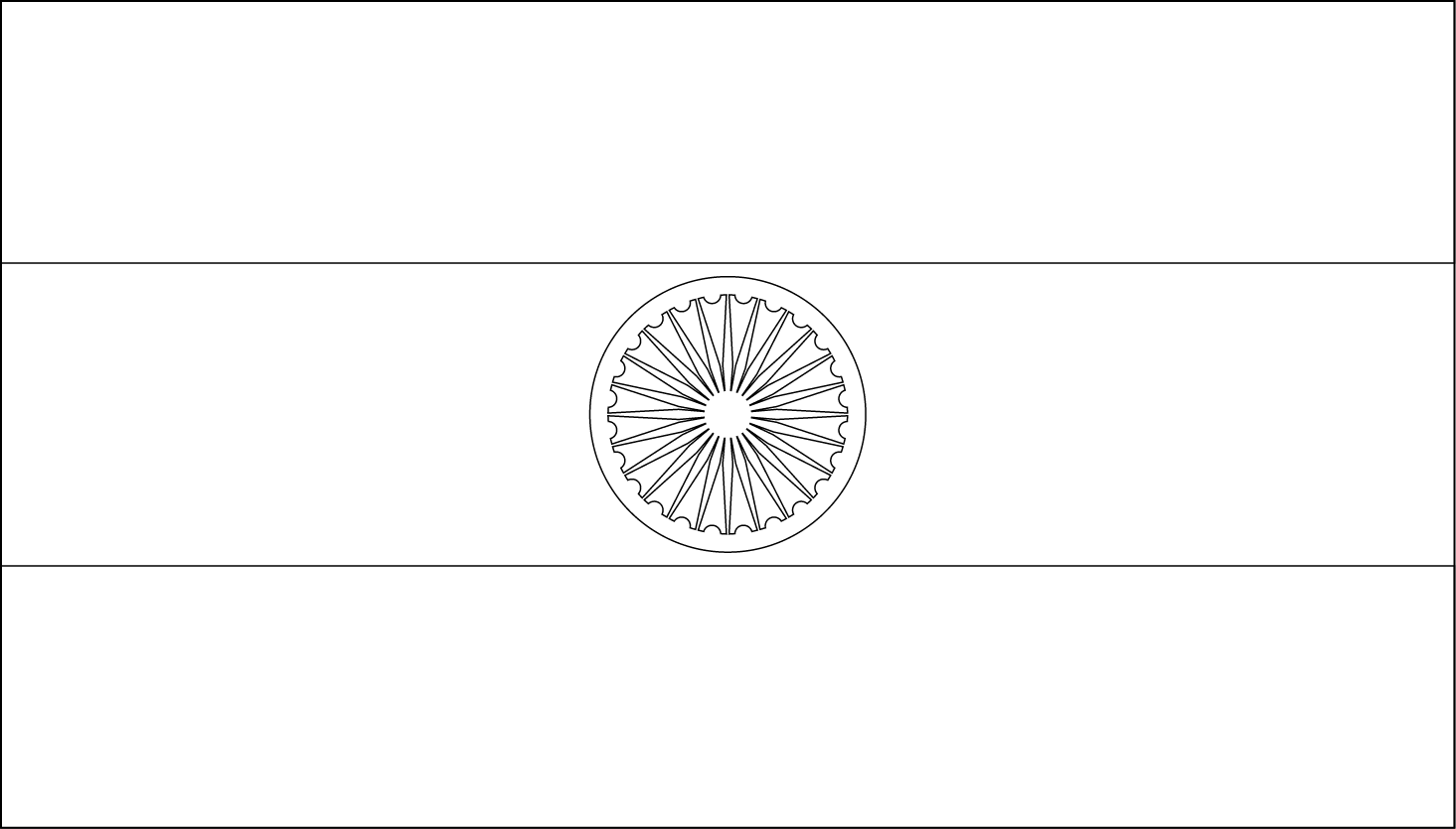 india flag coloring page coloring home