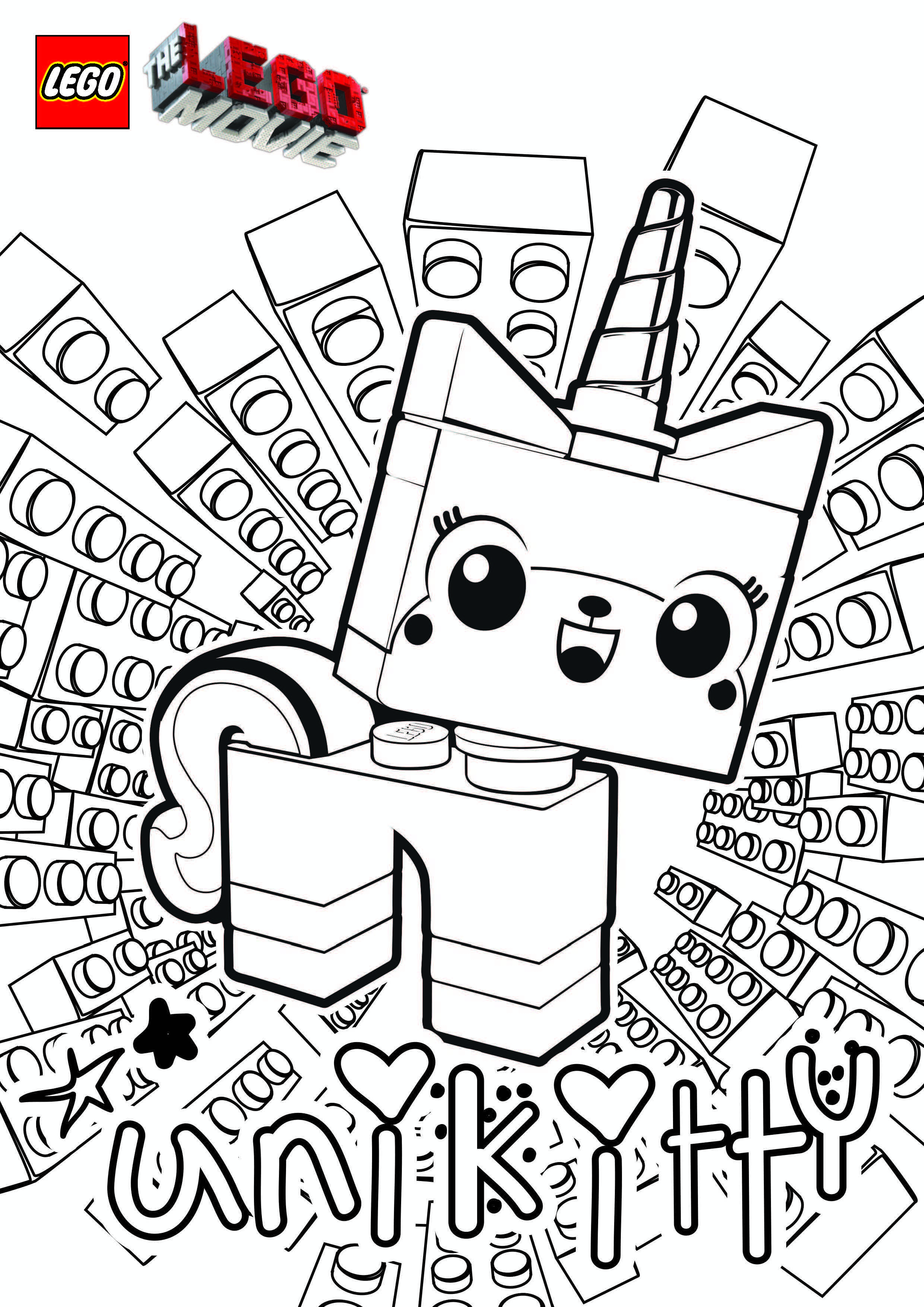 Lego Movie Wyldstyle Coloring Pages Coloring Home Lego Wyldstyle Coloring