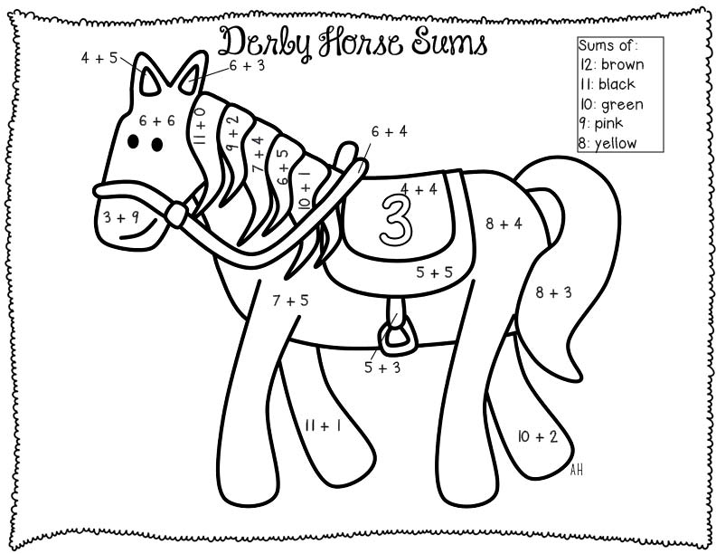 math worksheet : addition and subtraction coloring pages  az coloring pages : Coloring Addition Worksheets